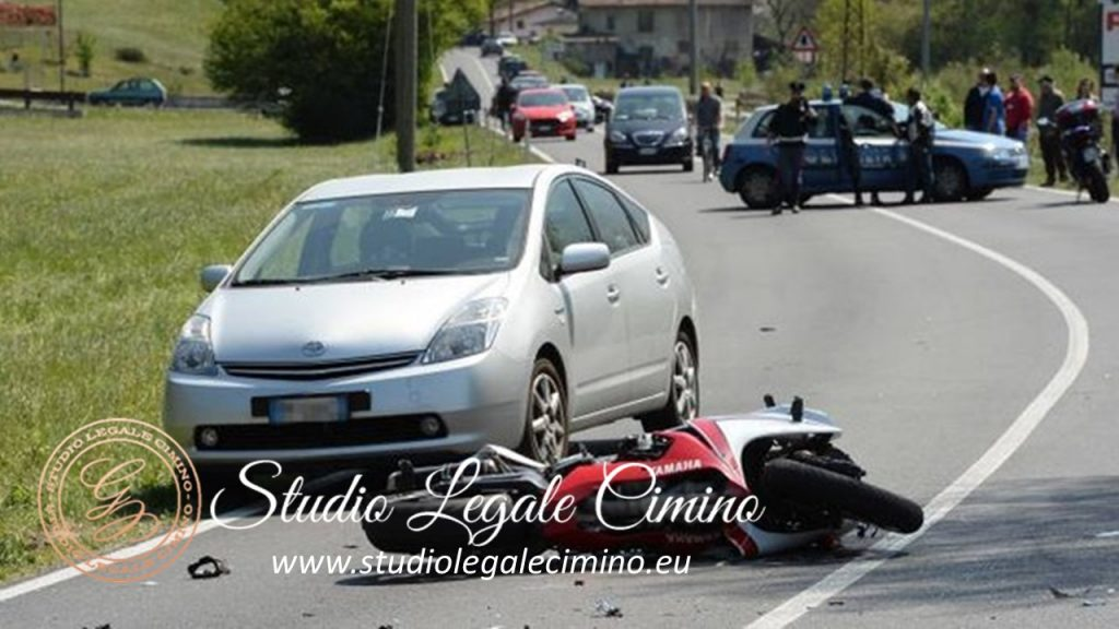 INCIDENTE CON MOTO